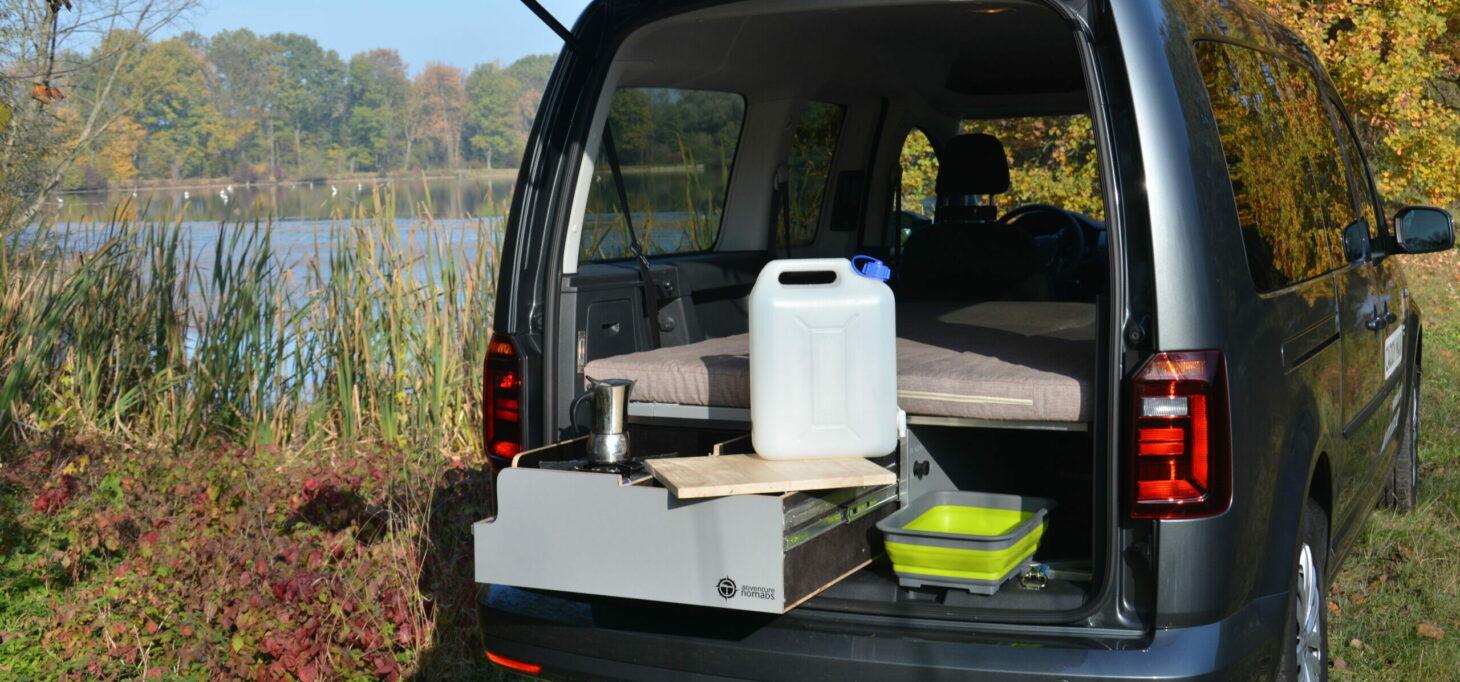Vestavba Volkswagen Caddy