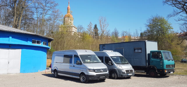 Úschovna obytných aut a karavanů